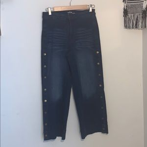 New Soho Culotte Denim Pants